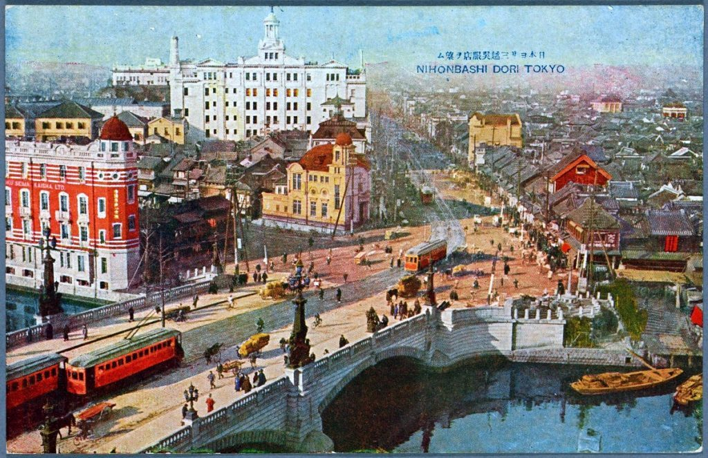 Nihonbashi dori Tokyo 1922-001