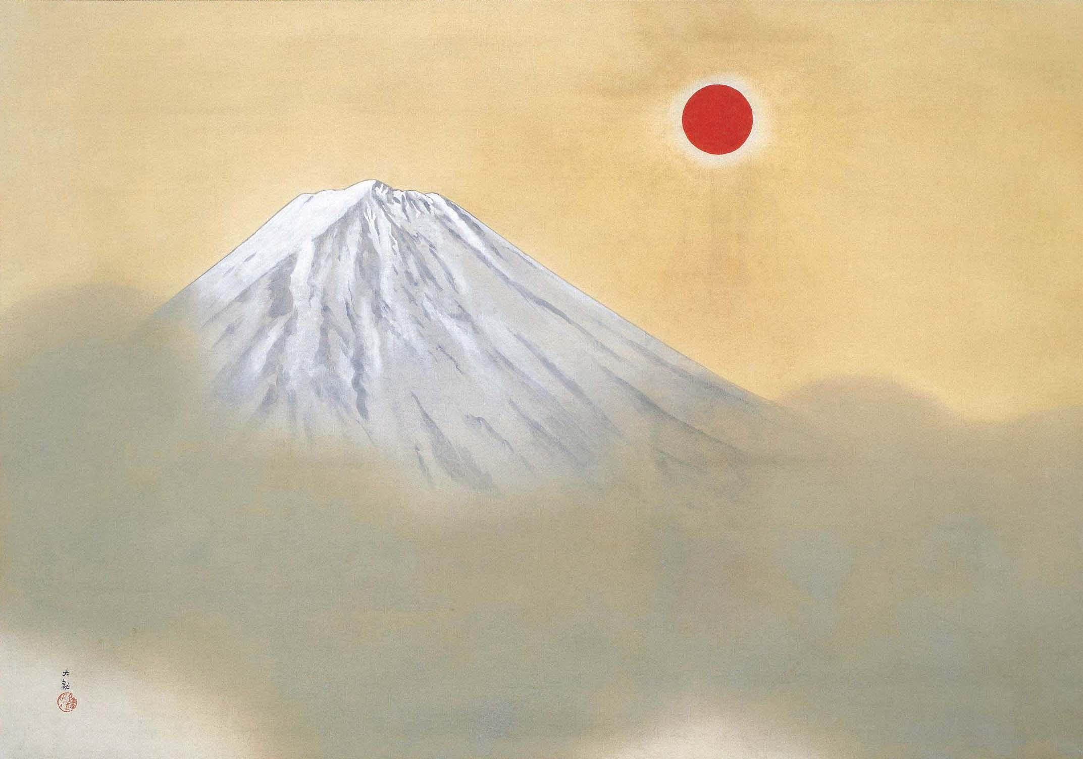 «Το όρος Φούτζι» του Γιοκογιάμα Ταϊκάν (1868-1958)