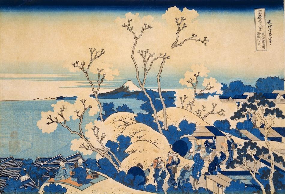 Από τη σειρά «36 Όψεις του Όρους Φούτζι» του Kατσούσικα Χοκουσάι (1760-1849)